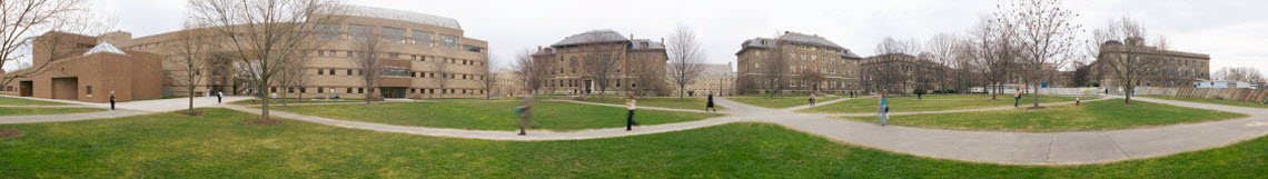 panoramic view  of ag quad