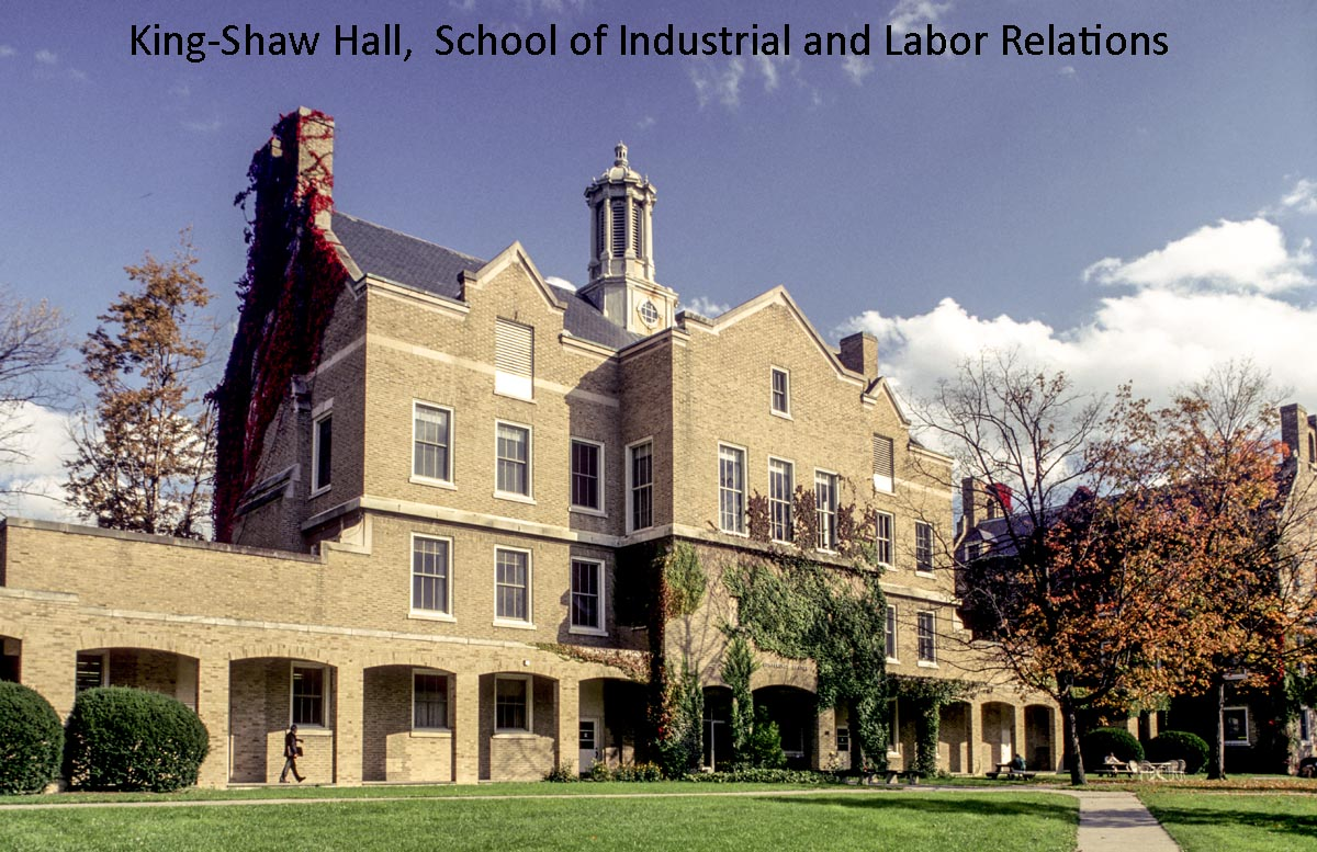 King Shaw Hall School of Industrial and Labor Relations