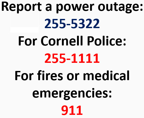 Emergency Contacts Power Outage   Facilities And Campus Services