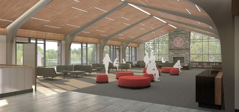 Cornell Welcome Center Entry