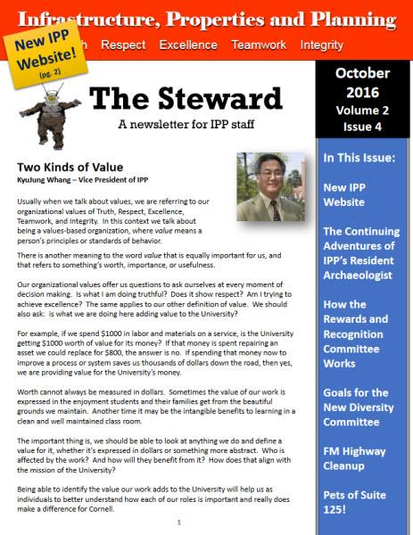 The October Edition of the IPP Newsletter is Here!